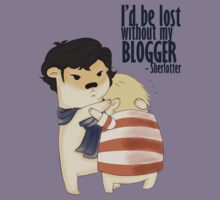 """I'd be lost without my blogger"" by cycroz01"
