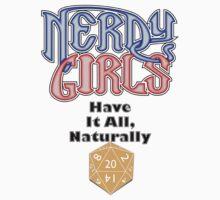 Nerdy Girls 012 - Naturally by Lee Edward McIlmoyle