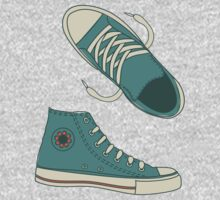 Funky Doodle Converse Kids Clothes