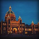 Victoria — Parliament at Night by Kaitlin Kelly