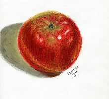 Red Apple by Svetlana Martynenko
