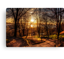 The Golden Hour Canvas Print