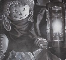 Raggedy Ann searching for Andy..or is she? by Mike Calhoun