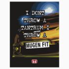 Mugen Fit Sticker by Kris Graves