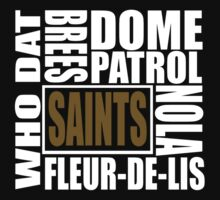 New Orleans Saints by Terronn Firven