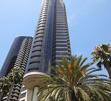 San Diego California City Metro Buildings by HQPhotos
