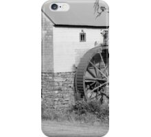 B & W Old Red Mill iPhone Case/Skin