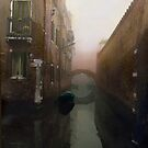Bridge in the Fog,  Venice  by Barbara Wyeth