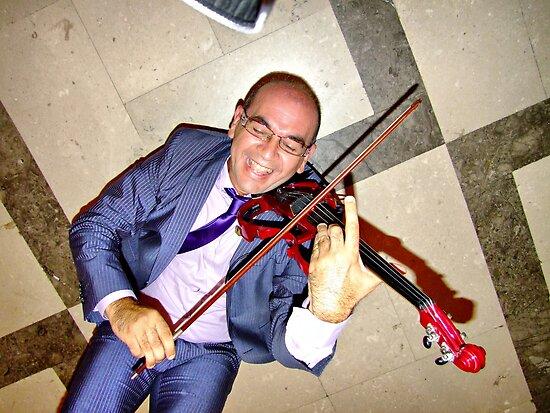 """the mad violinist by Antonello Incagnone """"incant"""""""