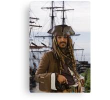 Pirate & Tall Ship Canvas Print