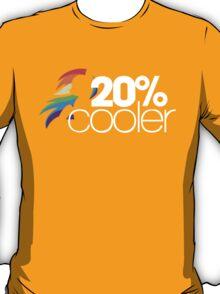 20% Cooler! (ALL options) - BLACK T-Shirt