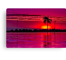 """""""A Townsville Tropical Dawning"""" Canvas Print"""