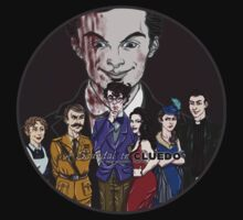 Cluedo Sherlock: The Only Possible Solution. by Jess-P