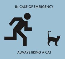 In case of emergency - always bring a cat by DrDork