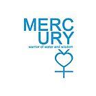Mercury Warrior Symbol iPhone4/4S Case by syaorankung