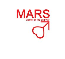 Mars Warrior Symbol iPhone4/4S Case by syaorankung