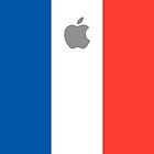 France flag iPhone case by mattiaterrando