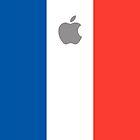France flag iPhone case by mattiaterrando