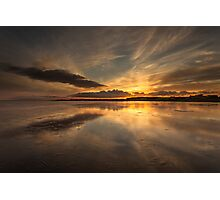 Powfoot Sunset Photographic Print