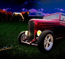 Cow Pasture Boogie 32 Coupe Grazing With The Herd by ChasSinklier
