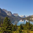 Saint Mary Lake & Wild Goose Island by Ian Berry