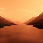 Upper Waterton Lake, Waterton National Park by Vickie Emms