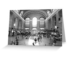 Main Concourse, Grand Central Greeting Card