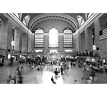 Main Concourse, Grand Central Photographic Print