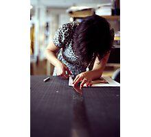 Designer Portrait Photographic Print