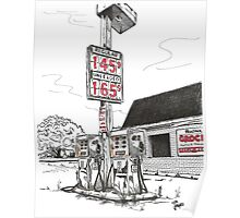 GAS PUMPS Poster