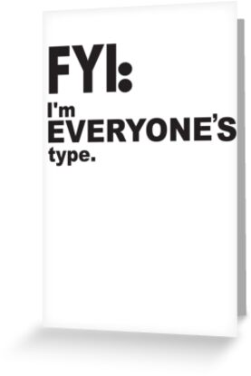 I'm Everyones Type by Jessica Becker