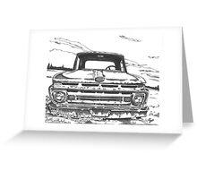FORD truck in GA Greeting Card