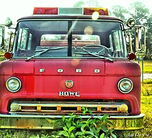 Old Fire Truck (HDR) by Jeff Ore