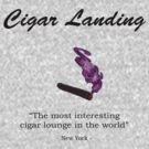 Cigar Landing T-Shirt, New York City Cigar Lounge by TheSmile