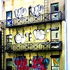 graffiti nyc by Ellen  Hagan