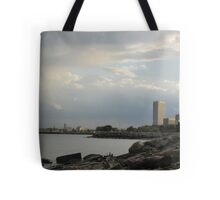 Milwaukee Cityscape 08 19 2012 Tote Bag