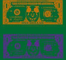 Disney Dollars II by PrinceRobbie
