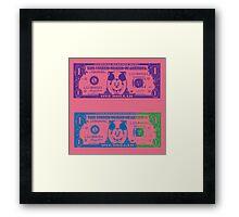 Disney Dollars III Framed Print