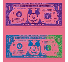 Disney Dollars III Photographic Print