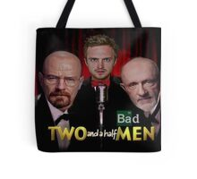 Two and a Half Bad Men Tote Bag