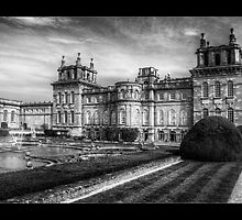 Blenheim Palace Garden by Wayman