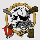 kill em' all gang patch by Madmut