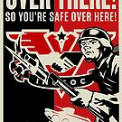 INGSOC &quot;Over There&quot; 1984 Propaganda Poster by LibertyManiacs