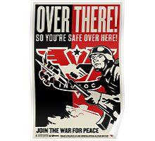 """INGSOC """"Over There"""" 1984 Propaganda Poster Poster"""