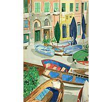 Italian Port Photographic Print