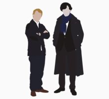 John and Sherlock by UtherPendragon