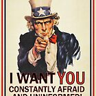 Uncle Sam Fear &amp; Ignorance by LibertyManiacs