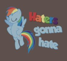 "Rainbow Dash ""Haters gonna hate"" by Astaen"