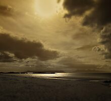 A golden moment - Local Hero beach by artyfifi