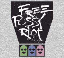 Free Pussy Riot tshirt by BrBa